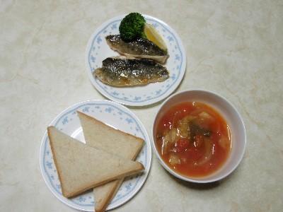 にじマス料理